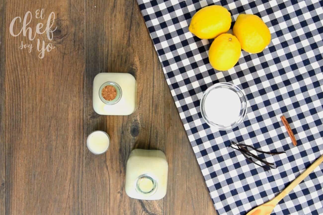 Licor de leche merengada (Thermomix)