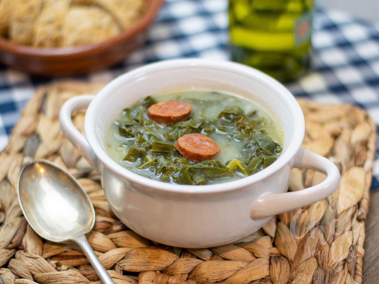 Caldo verde con Kale (receta portuguesa)